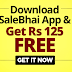 [Free Shopping] SaleBhai App: Download & Get Rs 125 Absolutely Free (Full Usable)