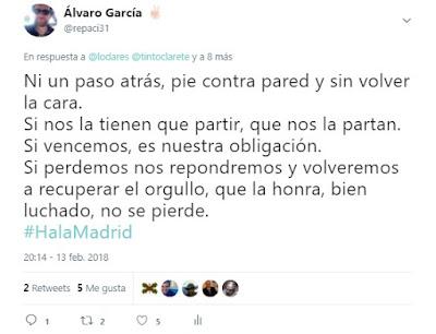 Toca invocar a Juanito - Hala Madrid - @repaci31 en Twitter - Real Madrid - el troblogdita