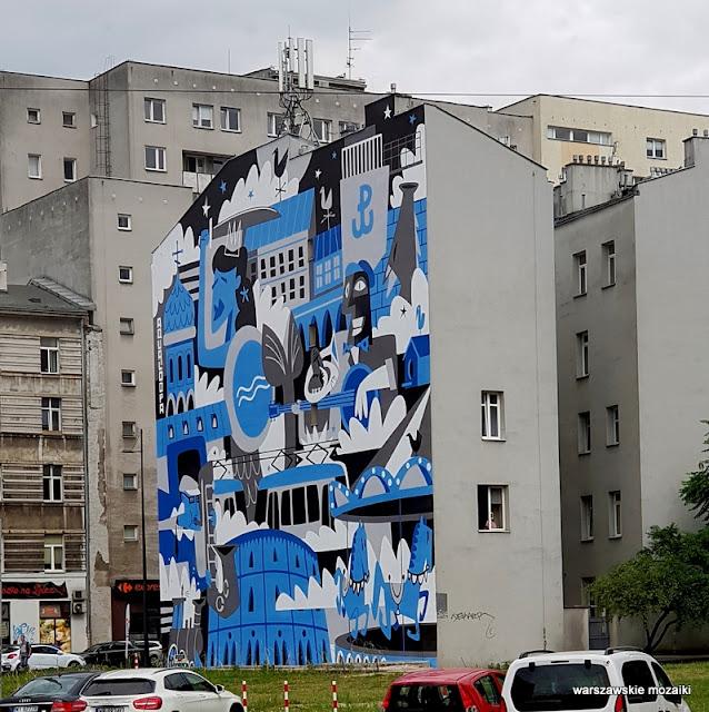 Warszawa Warsaw mural graffiti street art streetart Wola Mirów