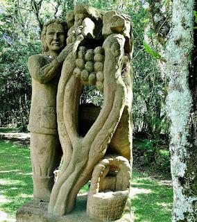 Winzer (Vinhateiro), Profissões dos Imigrantes Alemães no Parque Pedras do Silêncio, Nova Petrópolis