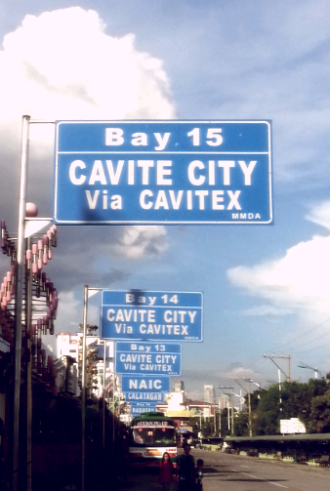 Cavite bus bay Southwest Integrated Teminal