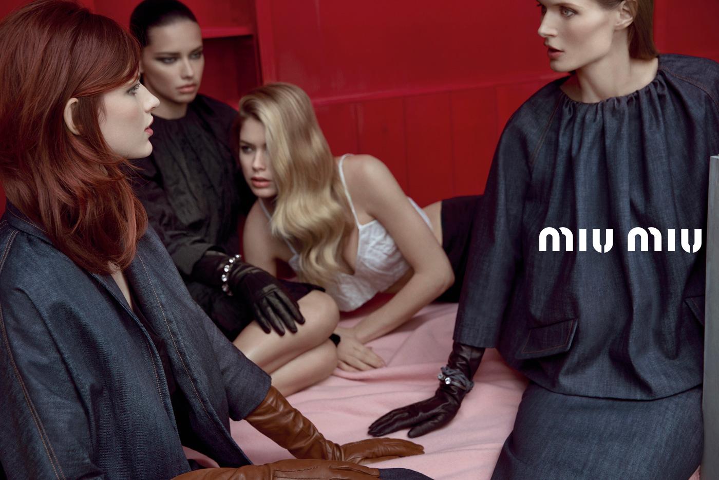 2736f30bb14a4 Miu Miu Spring 2013 Ad Campaign