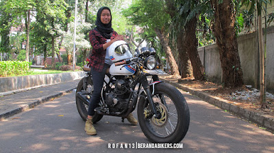 Albina Kanaya, Gadis SMA Pecinta Motor Custom
