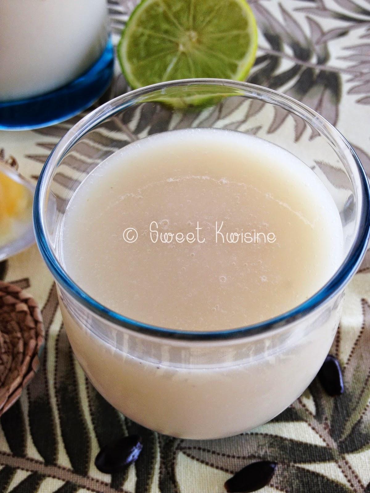 Sweet Kwisine, corossol, jus, Martinique, guanabana,soursop