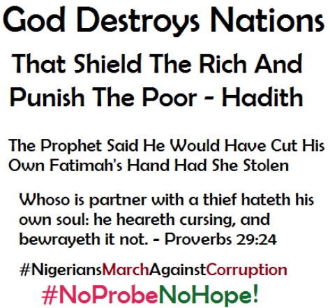 no probe no hope nigerians
