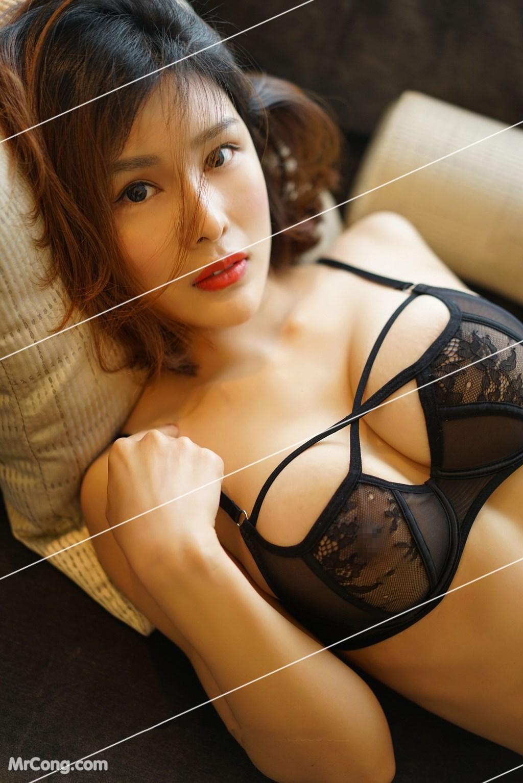 Image Yan-Pan-Pan-Part-3-MrCong.com-001 in post Ngắm vòng một siêu gợi cảm với nội y của người đẹp Yan Pan Pan (闫盼盼) (51 ảnh)