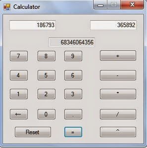 Calculator in Action