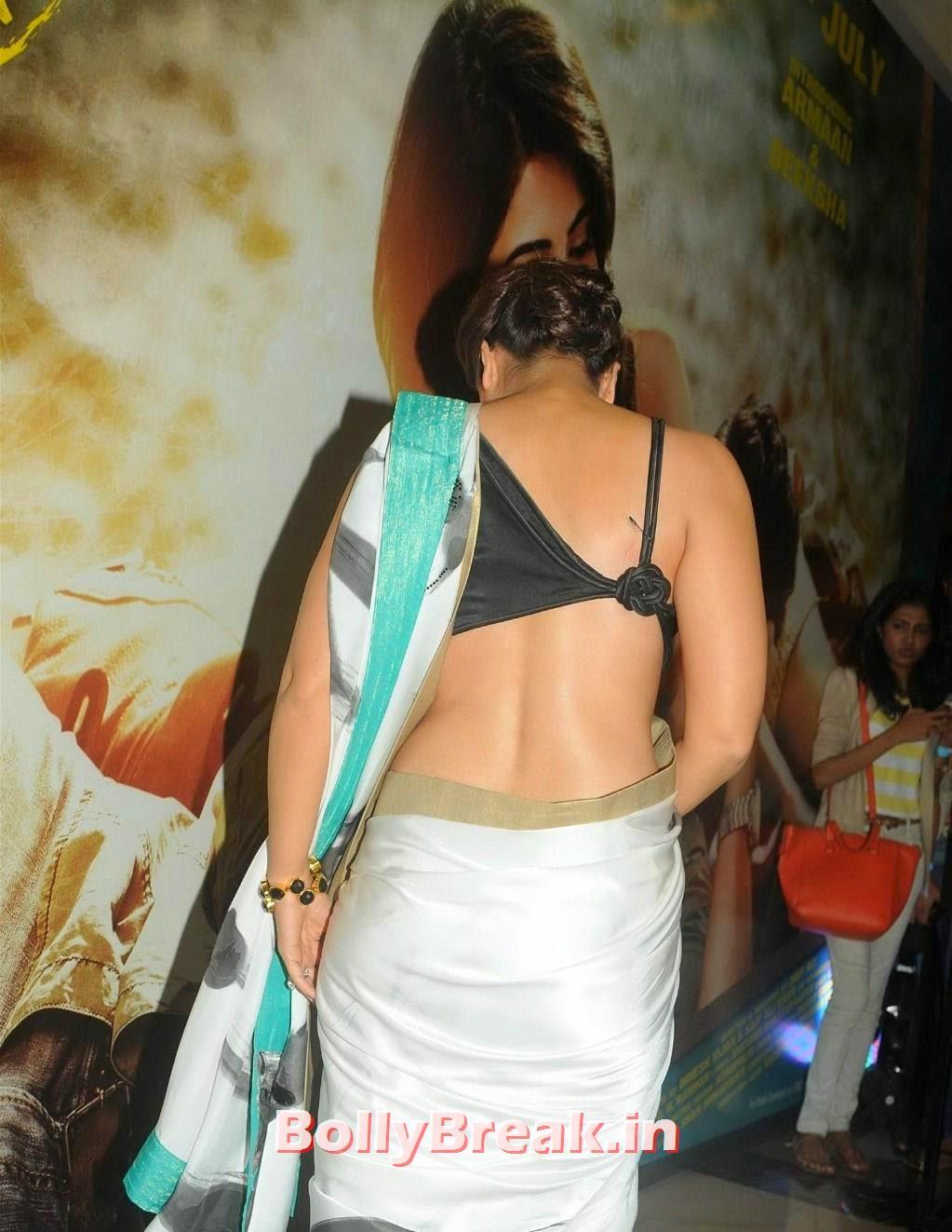 Kareena Kapoor Backless Saree Pics - Nude Back Photos - 3 Pics-4577
