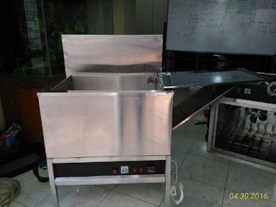 deep fryer mesin pengoreng reyoven berbagan gas murah