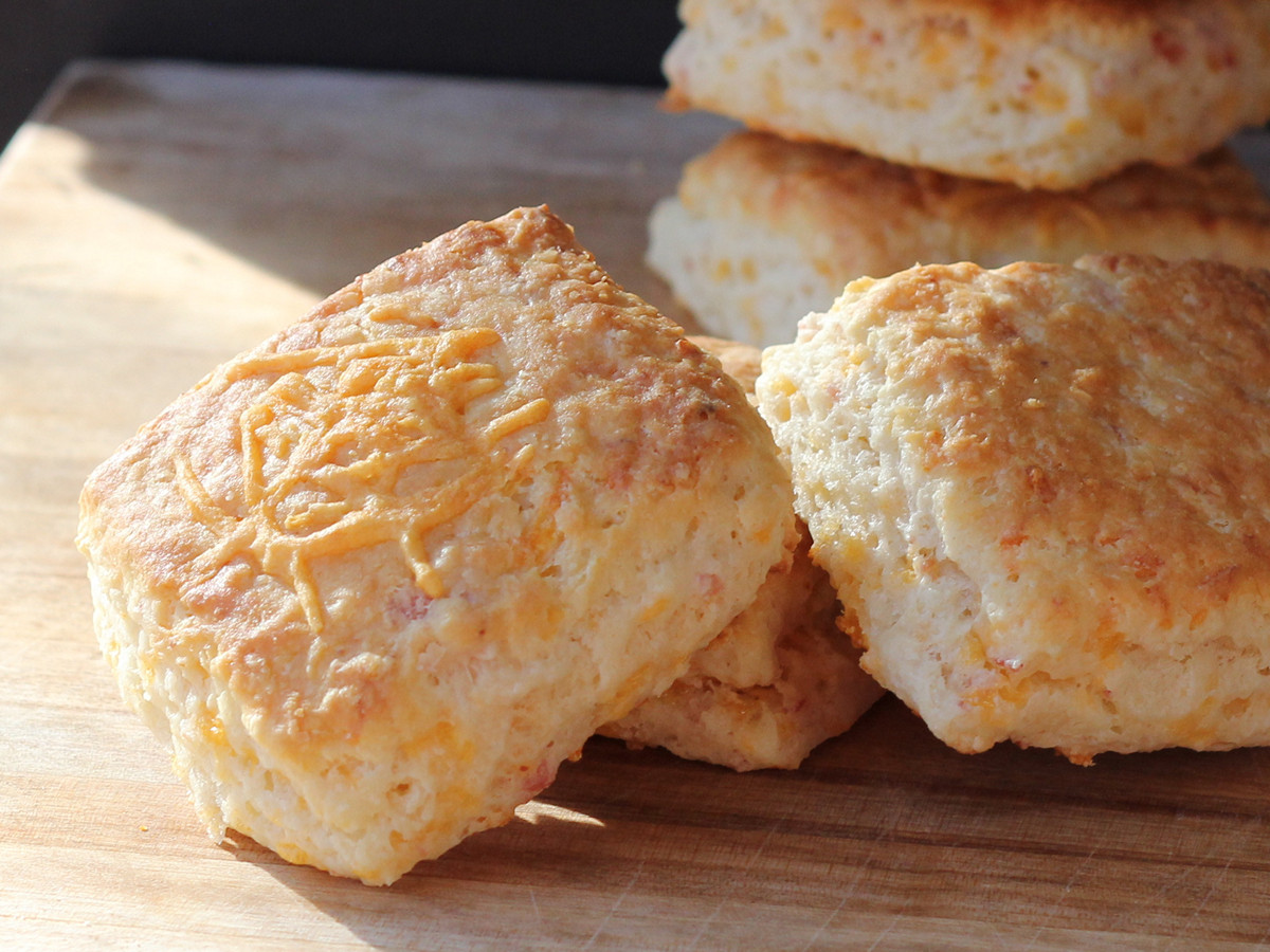 Cookistry Cheddar And Ham Biscuits