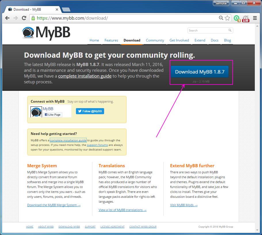codingtrabla: Install MyBB 1 8 7 forum on Windows