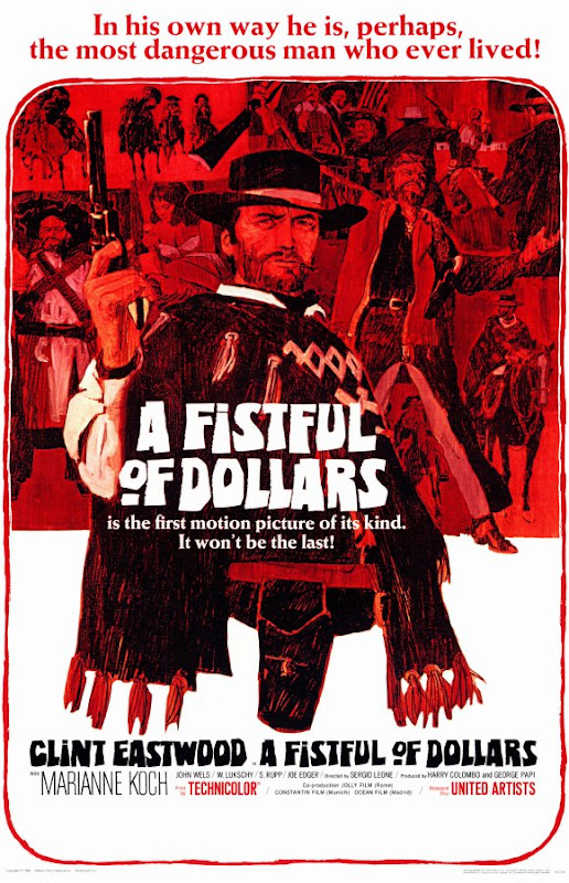 A Fistful of Dollars movie poster