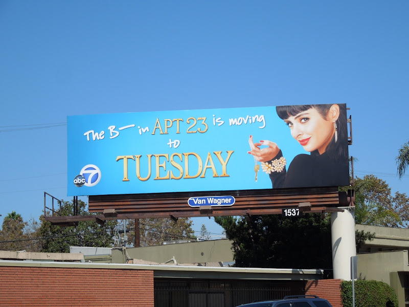 Apt 23 season 2 billboard