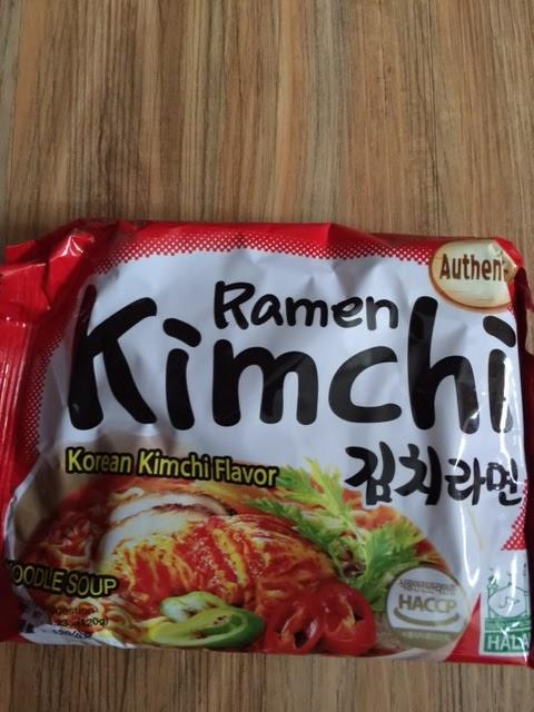 Jalan Jalan Cari Makanan Halal Ramen Halal Korea Rasa Kimchi Dan