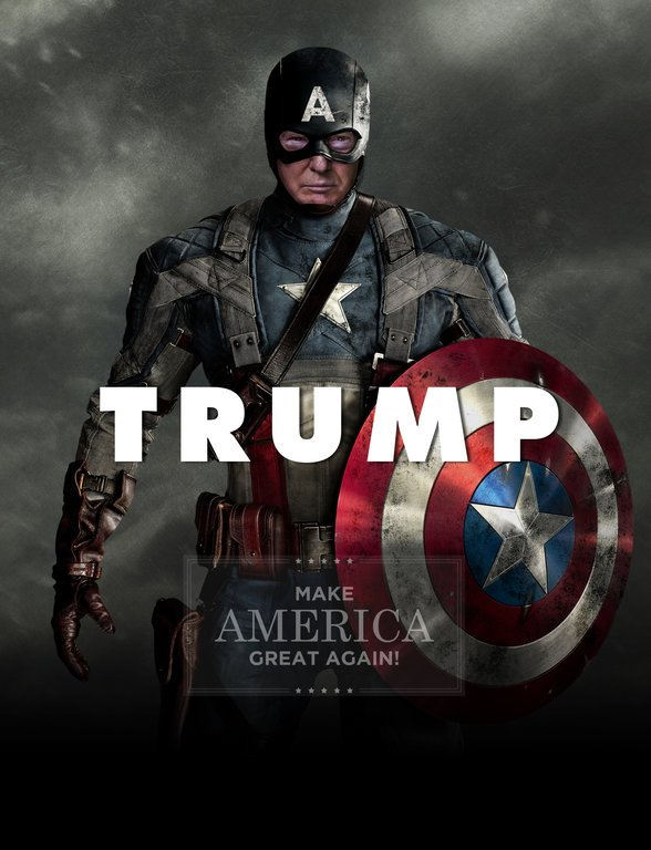 Asian Defence News: Trump featured as Captain America