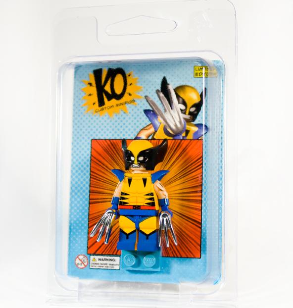 downtheblocks: POGO   Classic Wolverine Minifig