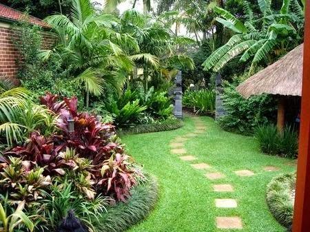 Jasa pembuatan taman rumah, villa, fasilitas umum lainya