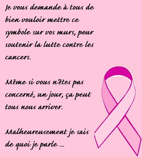 Ruban Rose lutte contre le cancer du sein