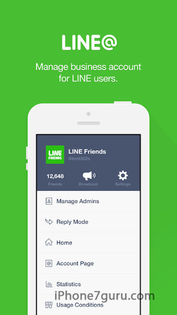 Line App With Picture