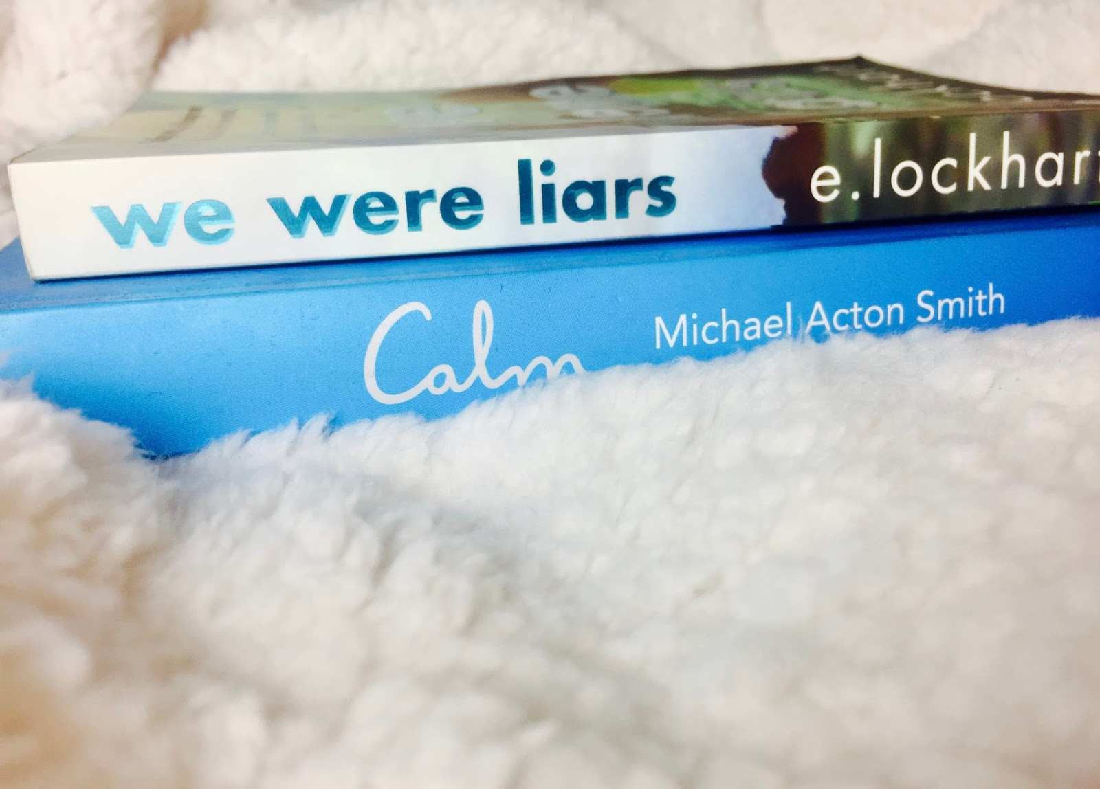 We Were Liars Book and Calm Book