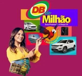 Cadastrar Promoção DB Supermercados 2019 DB do Milhão - Prêmios, Participar www.promodbdomilhao.com.br