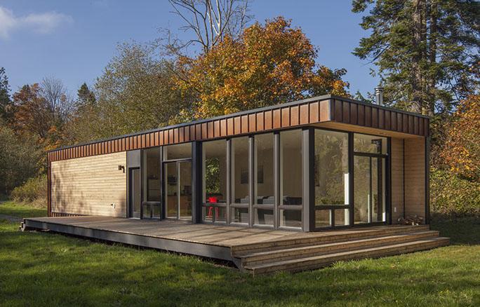 Casas modulares y prefabricadas de dise o caba a de for Disenos de cabanas