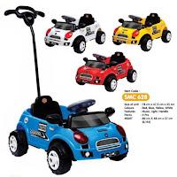 mobil mainan anak dorong shp mini compact car