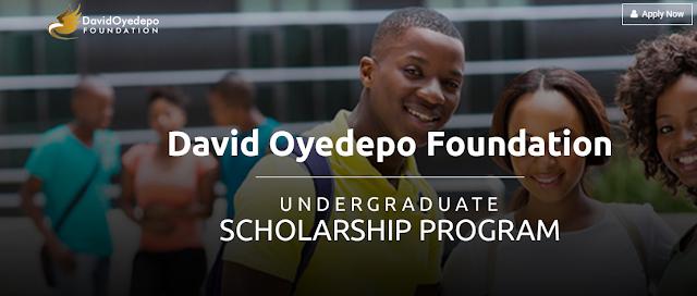 David Oyedepo Foundation Scholarship Program 2019