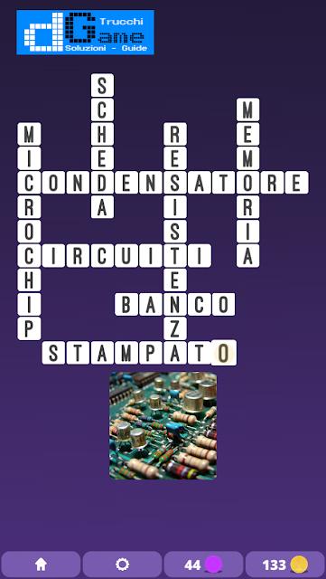 Soluzioni One Clue Crossword livello 9 schemi intermedio (Cruciverba illustrato)  | Parole e foto