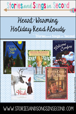 Calm the holiday crazies in your classroom and home with five classic and heart-warming picture books.  Their message of giving more than receiving is an important one during this special season
