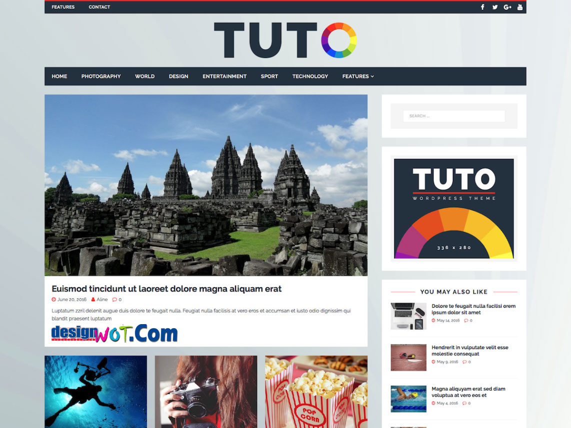 TUTO WordPress Responsive Theme