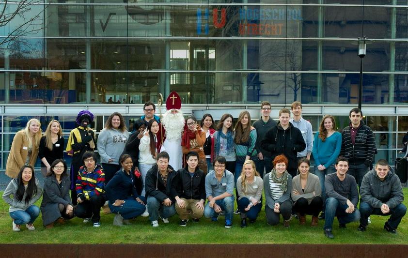 Sinh viên Đại học Khoa học Ứng dụng Utrecht
