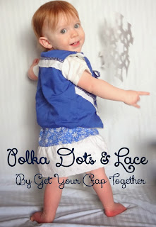 Polka Dots and Lace by Get Your Crap Together