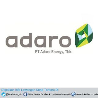 Lowongan Kerja PT Adaro Energy Tbk 2017 tersedia banyak bagian