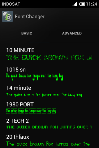 Tutorial Mengganti Fonts Di Android Ics Dengan Fontchanger 2