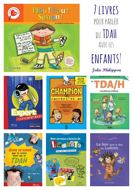 TDAH: 7 livres pour en parler avec les enfants