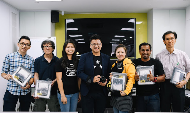 Our team won the mini videography contest and got a very cool Limited Edition Nikon Tote Bag