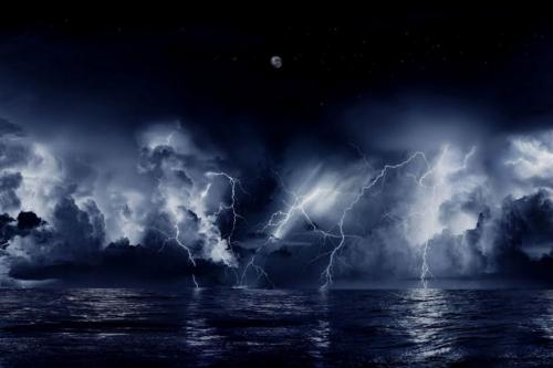 The most rare and beautiful natural phenomena 2. Lightning above the river Catatumbo