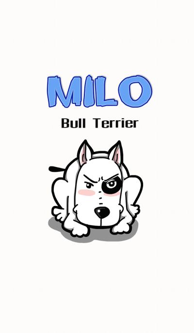 Milo bull terrier