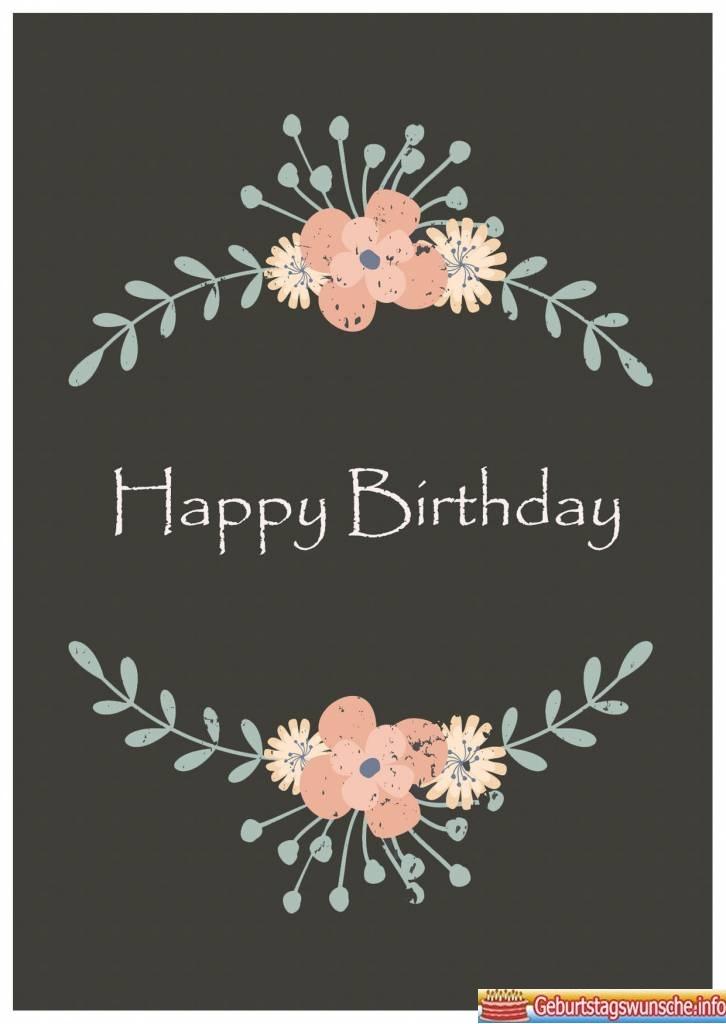 Geburtstagsbilder Vintage  Wnsche zum Geburtstag  Geburtstagswnsche  Glckwnsche zum
