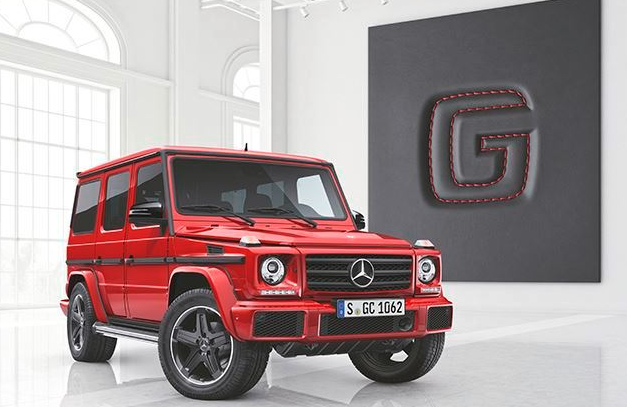 Two New Special Mercedes-Benz G-Class Models Unveiled Exterior