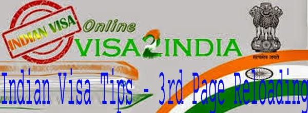 Indian Visa Tips টেম্পোরারী ফাইলের তিন নাম্বার পেজ উল্টা ঘোরার সমাধান ।