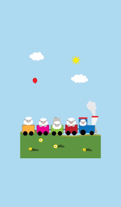 Cute sheep theme v.2