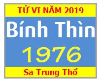 Tử Vi Tuổi Bính Thìn 1976 Năm 2019 Nam Mạng - Nữ Mạng