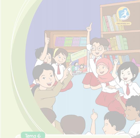 Buku K13 SD Kelas V Semester II Revisi Tahun 2017