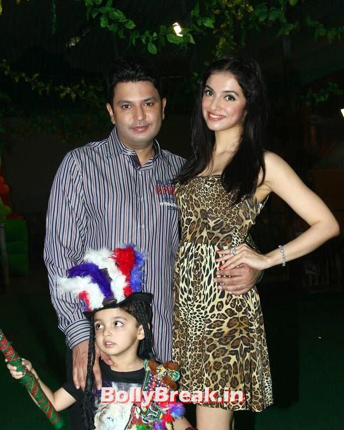 Bhushan Kumar, Ruhaan, Divya Khosla Kumar, Divya Khosla Kumar's son Ruhaan's Birthday Bash