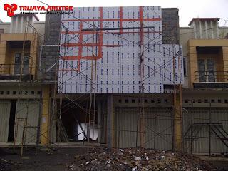 Aluminium Composite Panel, Facade, Proyek Batu, Proyek Malang