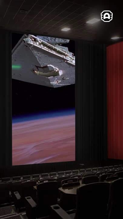 Alamo Drafthouse's VerticalVision : これまでの映画の常識が覆される ! !、スマホに慣れた現代人の視野にあわせたタテ長スクリーンの映画館が今夏オープン ! !