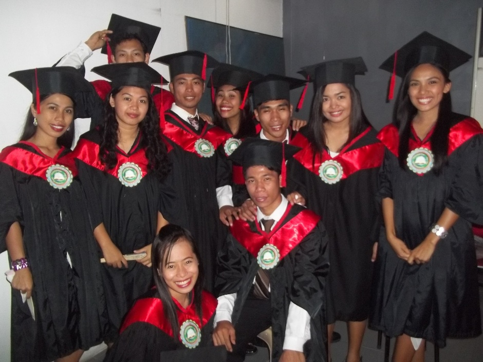 The second graduating class of Leyte Christian College