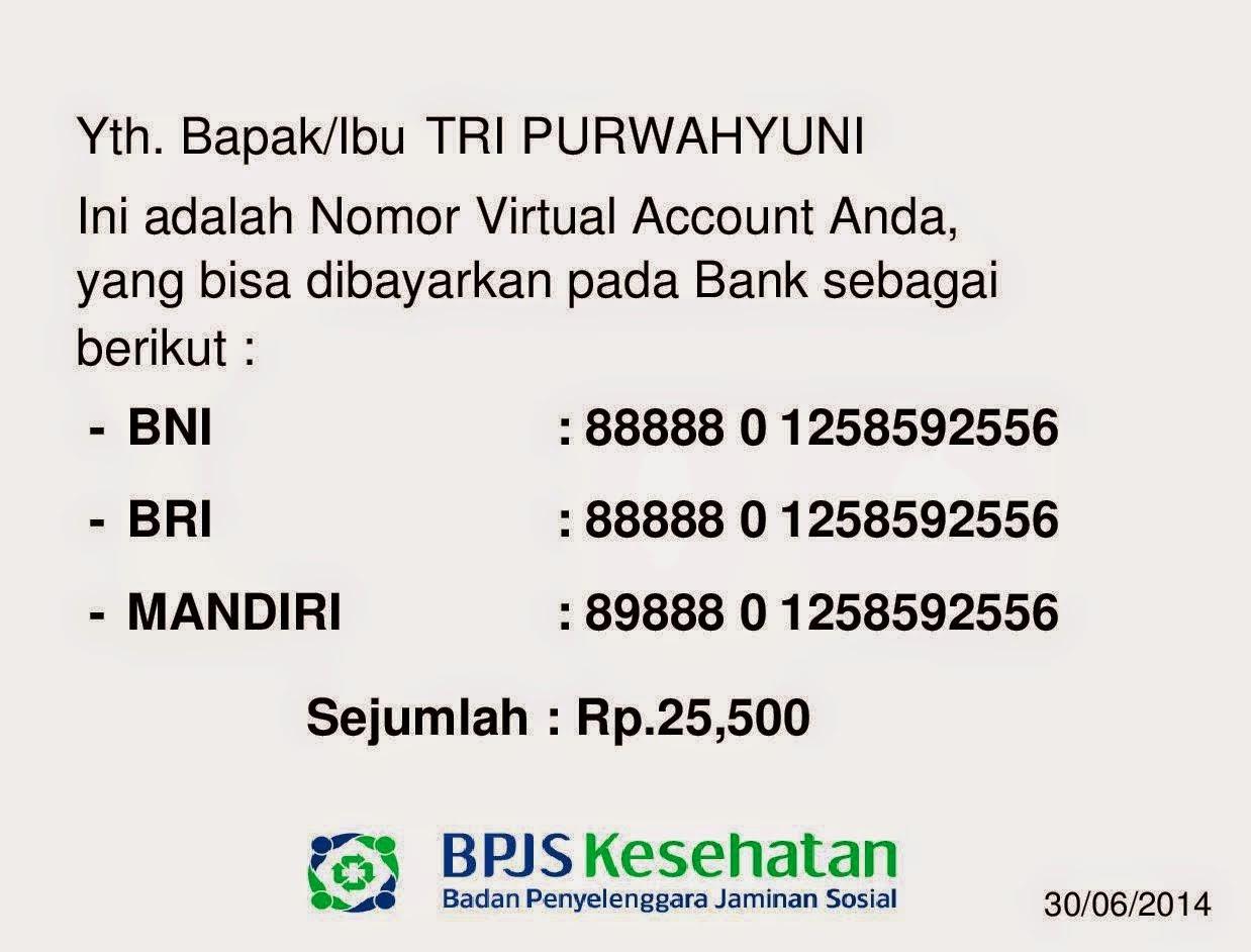 Cara bayar tagihan BPJS Kesehatan via ATM